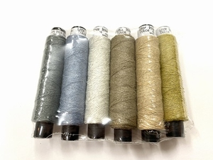 Linnen & inoXthreads color  10 colors  10 cones