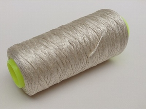 Super Gloss Mulberry bombyx silk chainette  250 meter/cone
