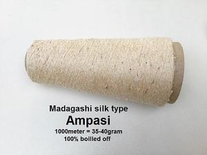 Madagashi silk type 100% gekochte Ampasi  1000 meter/cone