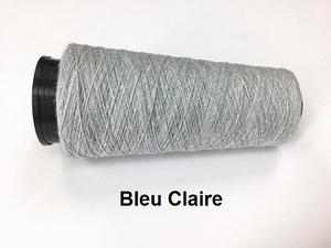 Bourette de Luxe zijde 20 Nm Bleu Claire  500 meter/cone