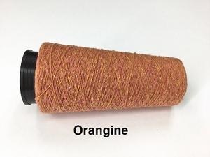 Bourette de Luxe zijde 20 Nm Orangine  500 meter/cone