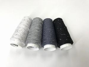 Coton Paillette  super colors black whites