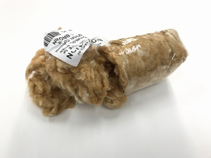 BIO COTTON  100% natural heirloom color golden brown  100 gram