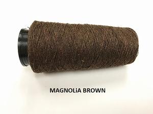 Bourette de Luxe zijde 20 Nm Magnolia Brown  500 meter/cone