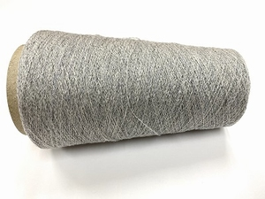 cashmere shetland blingbling Lace knit powdergrey silverblin  100gr 2000mt