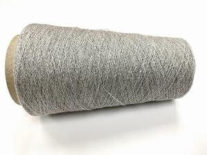 cashmere shetland blingbling Lace knit powdergrey silverblin