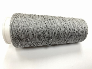 Coton Paillette  super colors GREY  150 meter/cone