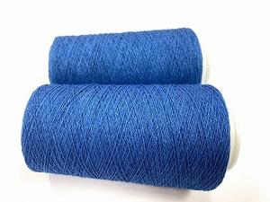 USA pima cotton natural indigo col soft medium indigo  +-75gr +1000mt