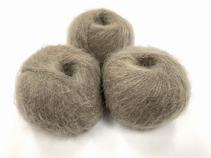 dirty children mohair super soft  color soft taupe  +-35gram = 315m