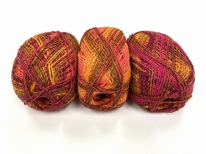 socky wocky color fading color fushia redish  100gr +350met