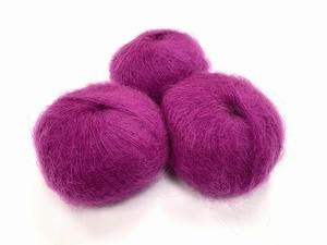dirty children mohair super soft  color bombomberry  +-35gram = 315m