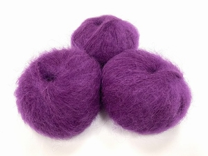 dirty children mohair super soft  color mirtille  +-35gram = 315m