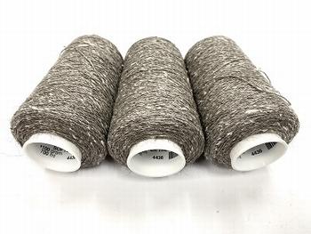 russian silk qiviut melange of 14 to 16 micron qiviut