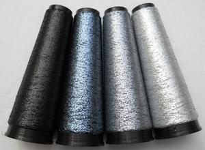 gemetaliseerde polyvinilfilm zilvergrijzenzwart 4