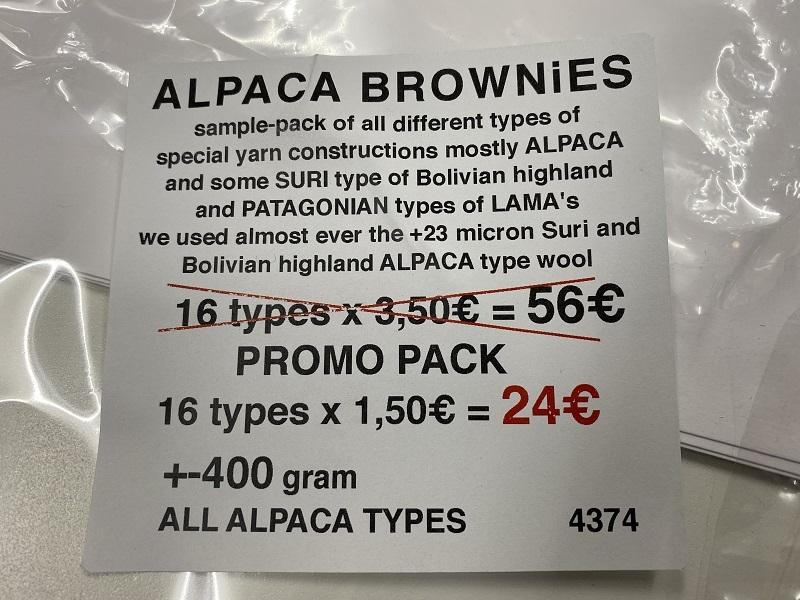 alpaca brownies a stuructural mix test