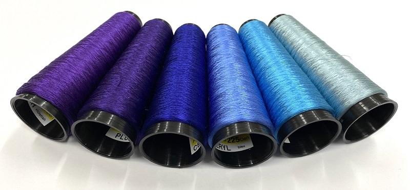 Argentia silk 225 den color   CORNFLOWER bleu