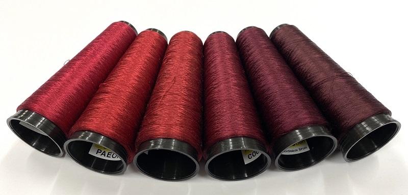 Argentia silk 225 den color   PAEONiA red