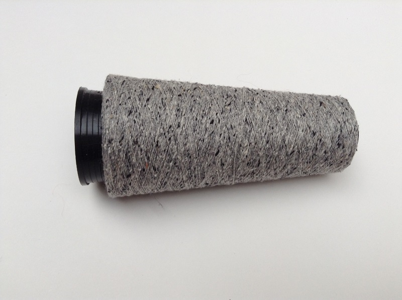 Bourette de Luxe   100% Soie 20/1Nm 4 color Grey