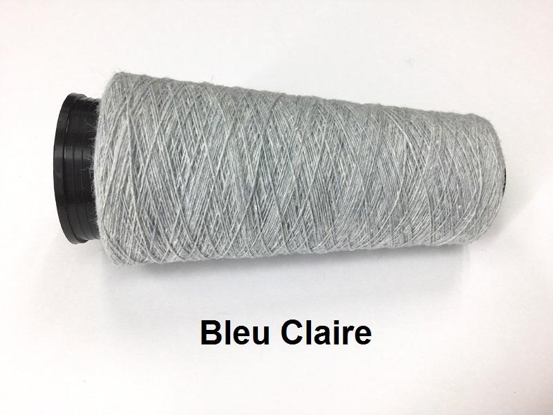 Bourette de Luxe zijde 20 Nm 5 colors BLEU