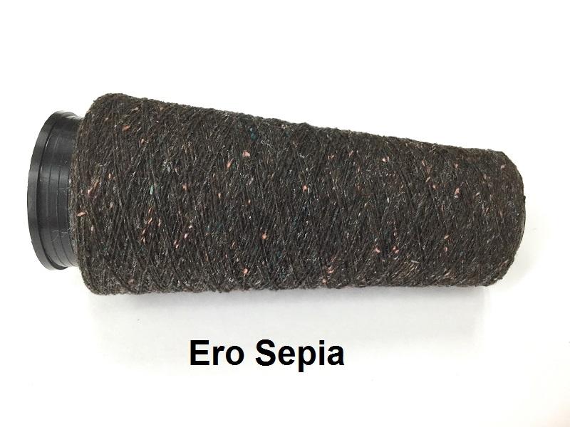 Bourette de Luxe zijde 20 Nm Ero Sepia