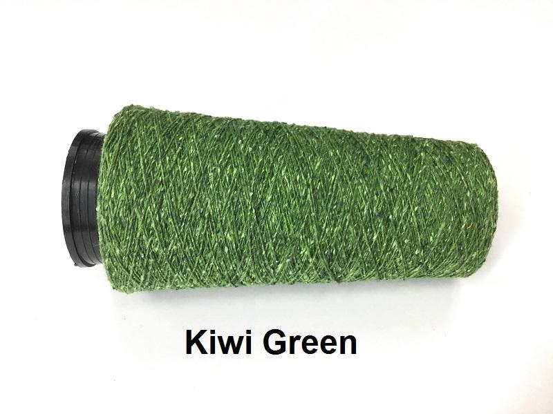 Bourette de Luxe zijde 20 Nm Kiwi Green