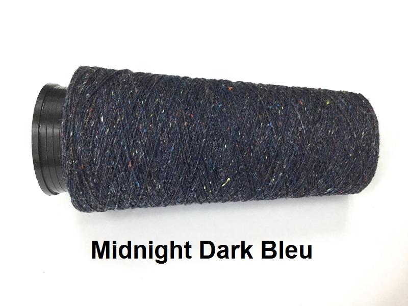 Bourette de Luxe zijde 20 Nm Midnight darkbleu