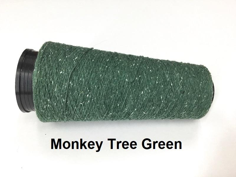 Bourette de Luxe zijde 20 Nm Monkey Tree Green