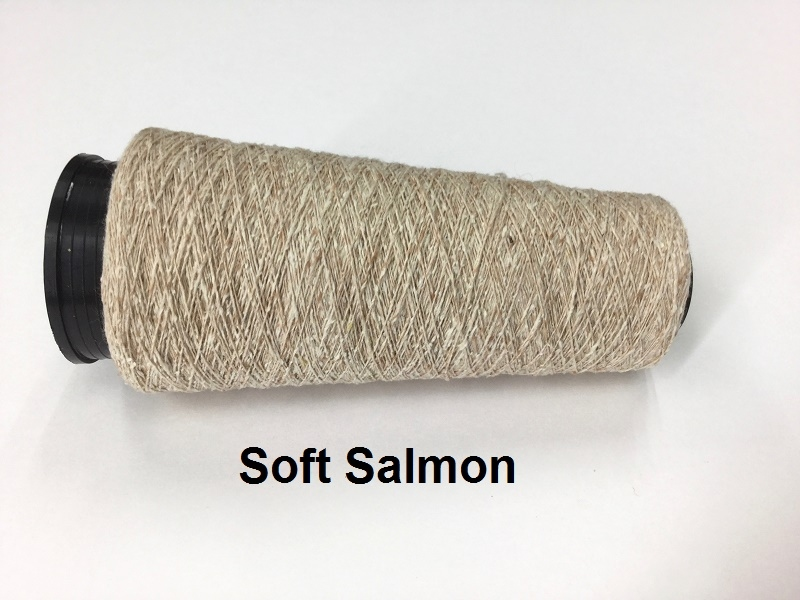 Bourette de Luxe zijde 20 Nm Soft Salmon