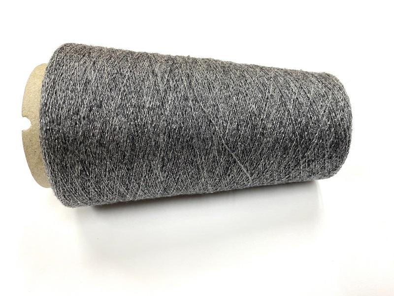 cashmere shetland blingbling Lace knit antra sliverblinky