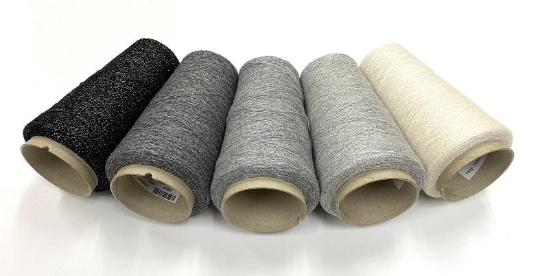 cashmere shetland blingbling Lace knit grey silverblinky