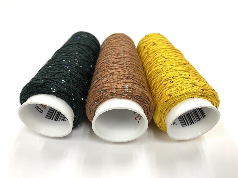 Coton Paillette  super colors  SOFT BROWN