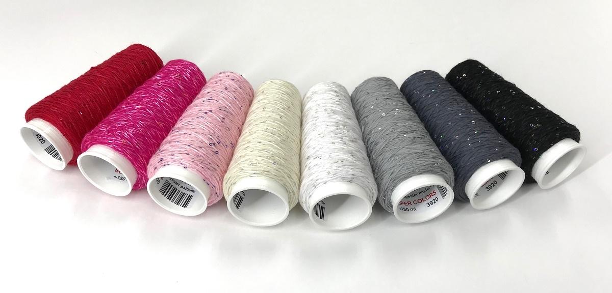 Coton Paillette  super colors ANTRACIET