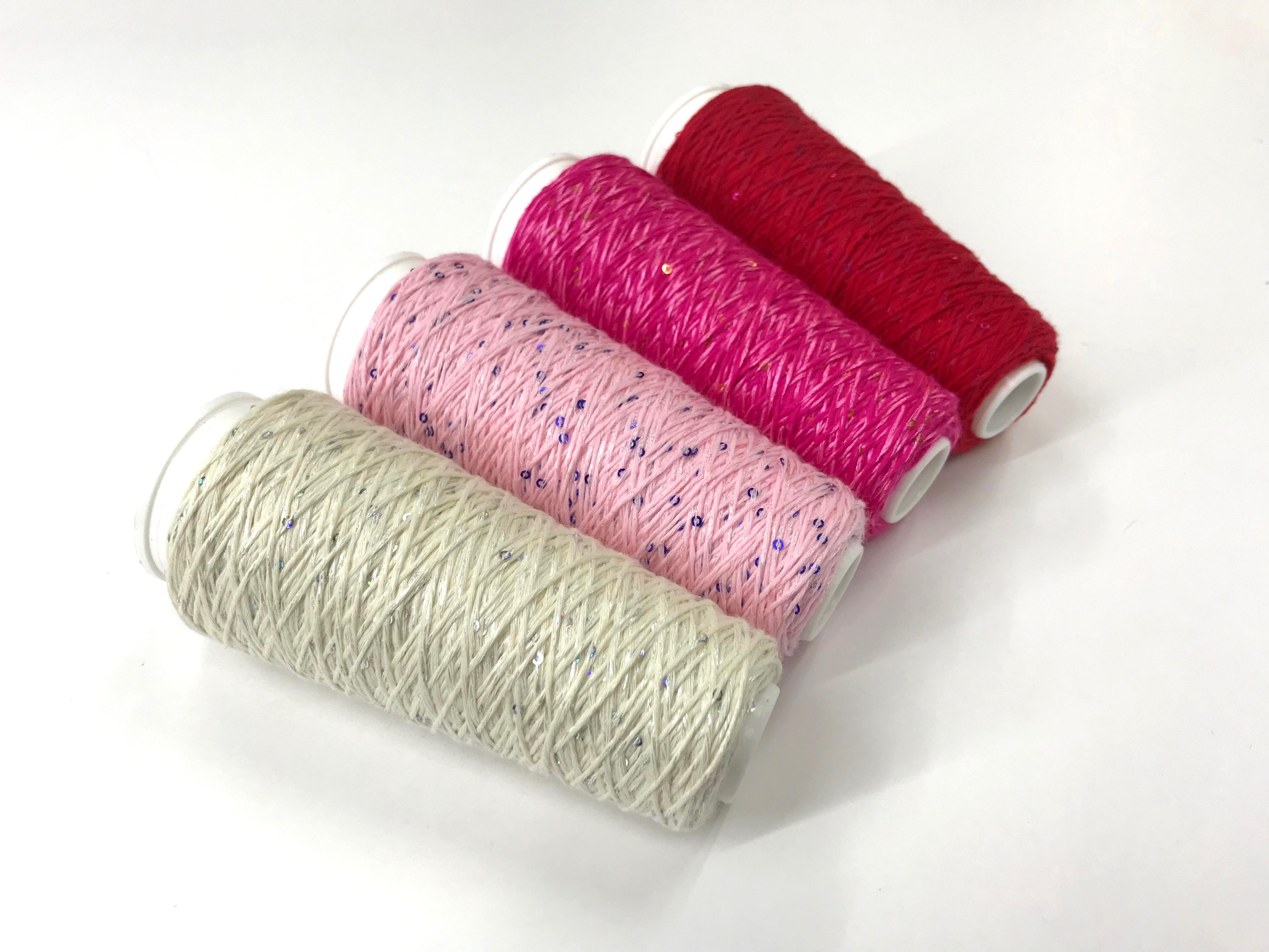 Coton Paillette  super colors ECRU