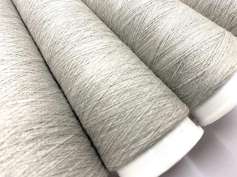 E-Textile Metal  double Soft Knit  2 ply