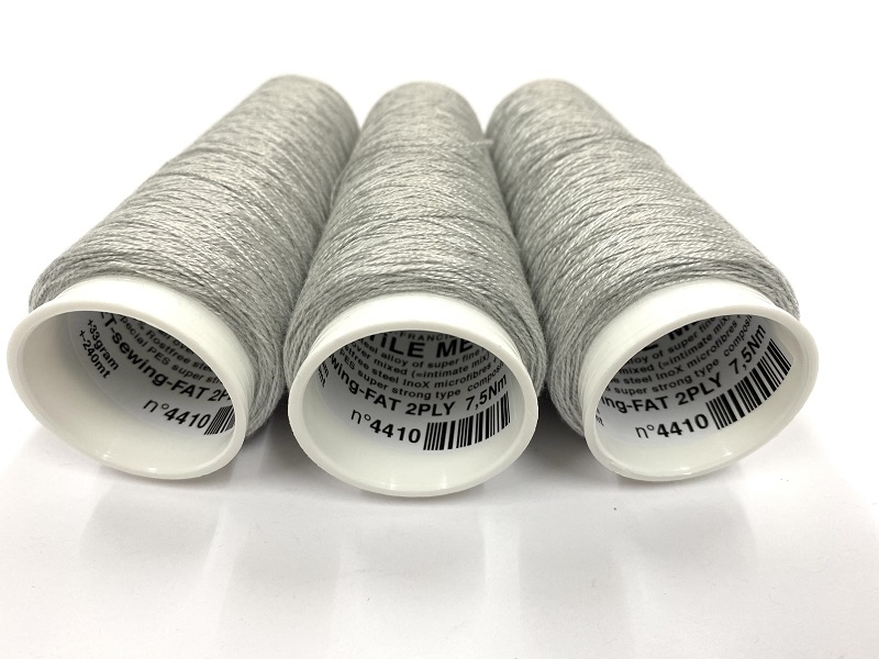 E-Textile Metal  Sewing/embroidery special  7,5Nm 2ply
