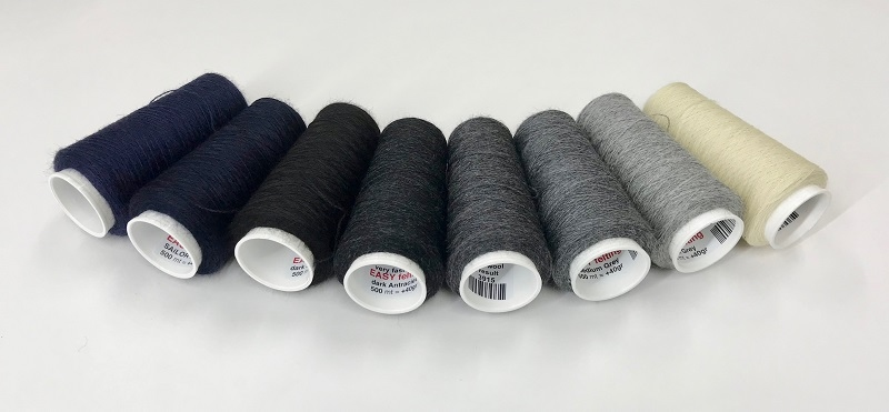 EasyFelt wool  500meter = +40gram  dark antraciet