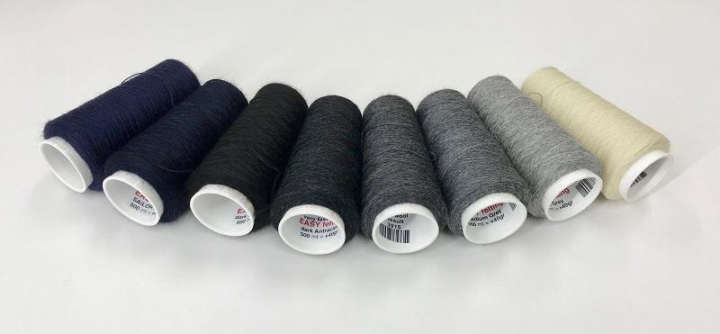 EasyFelt wool  500meter = +40gram  light antraciet