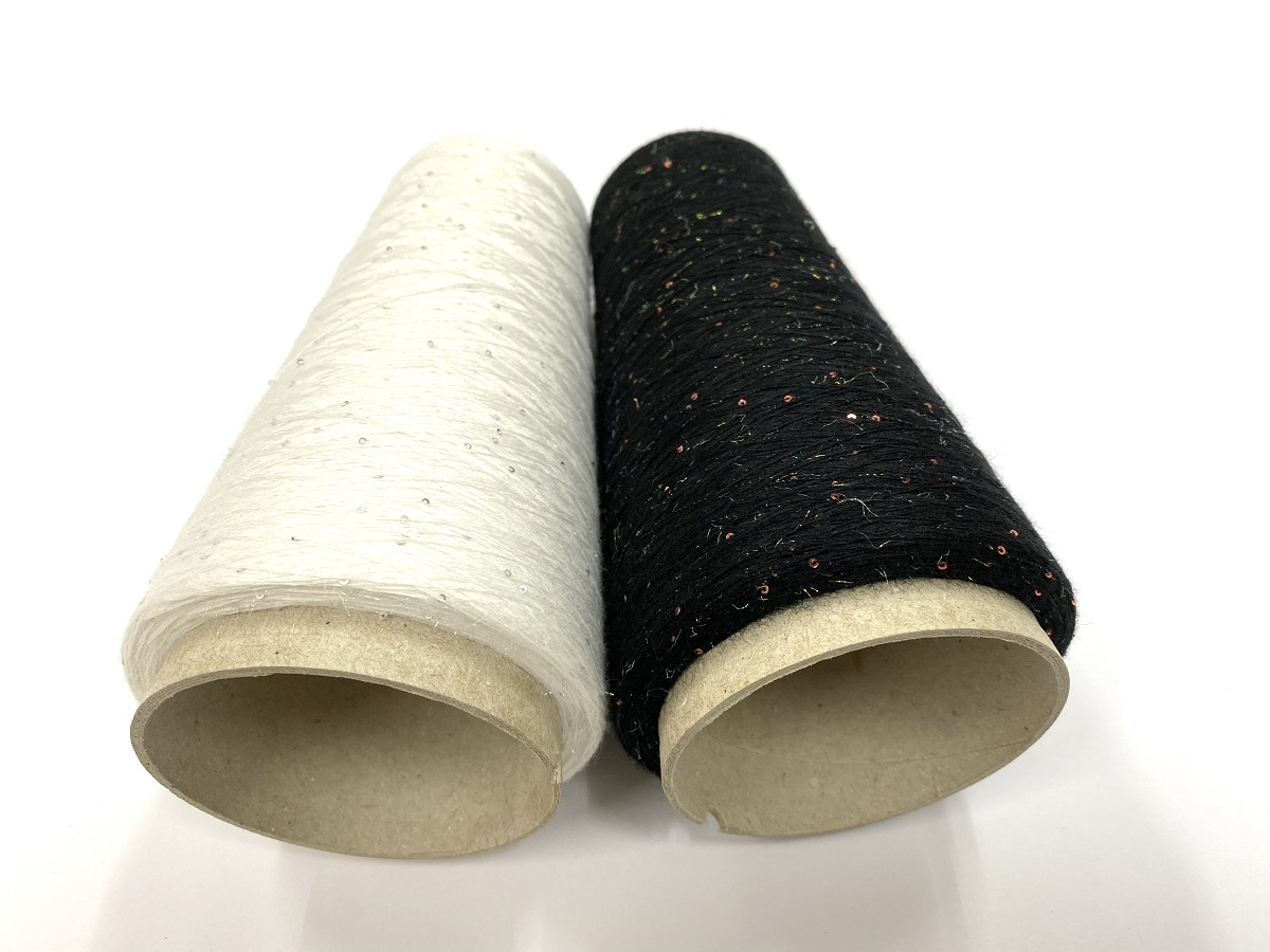 emperatrice josephine cashmere silk +handcut mircopaillettes