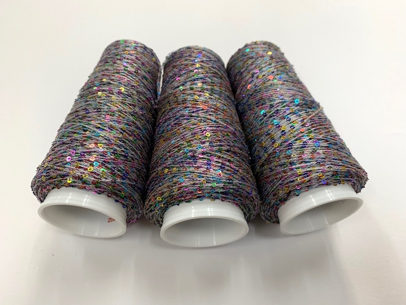 Hautecouture micropaillettes color darkbeige 4124