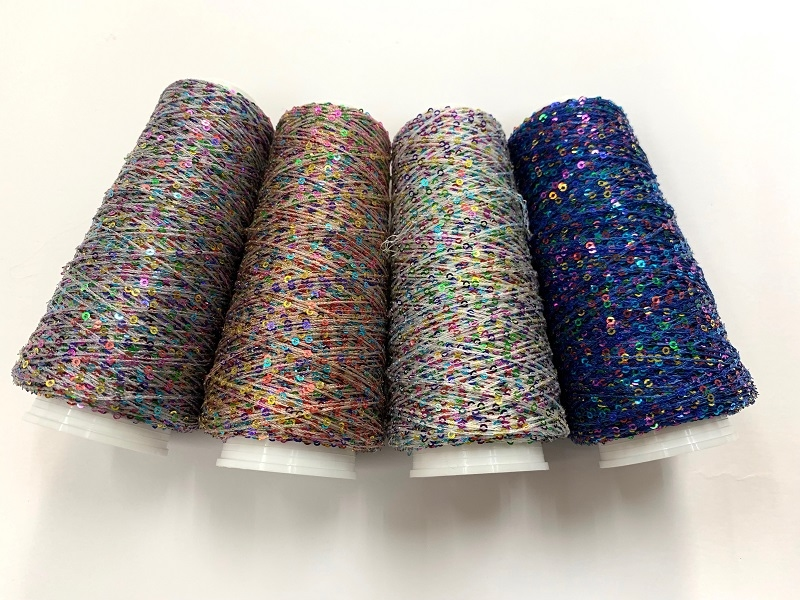 Hautecouture micropaillettes color wit  4124