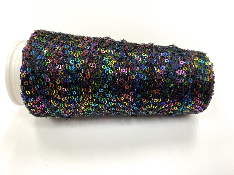Hautecouture micropaillettes color noir 4124