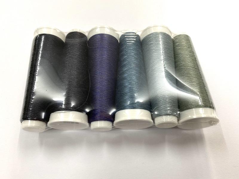 Hokaido silk  6 colors promopack winter colors