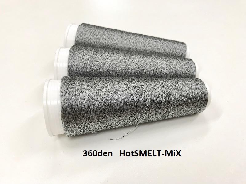 Hot smelt super tech Mix  color black  360 deniers