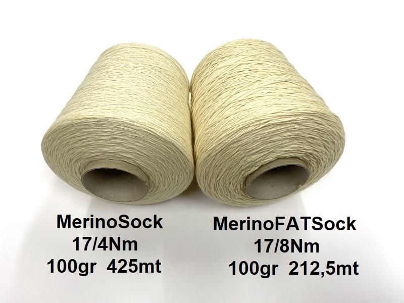 MerinoSock 75/25 Natural Ecru