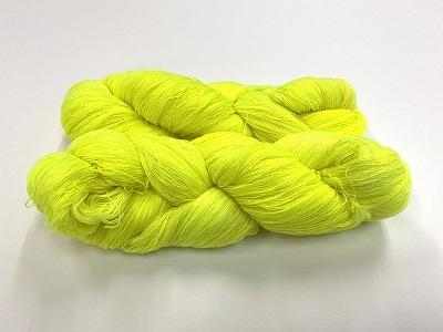 merinosoft super lace  color RADIACTIVE FLUO BANANA