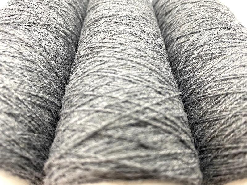 merinoX CORDONNETfor E-TEXTILES and fun textile GREY