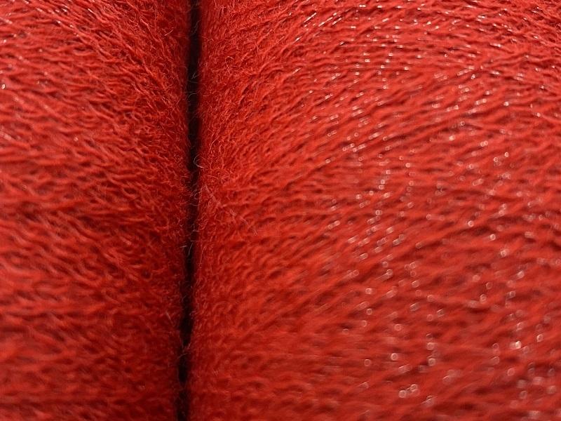 merinoX Fine thread for E-TEXTILES and fun textile RED