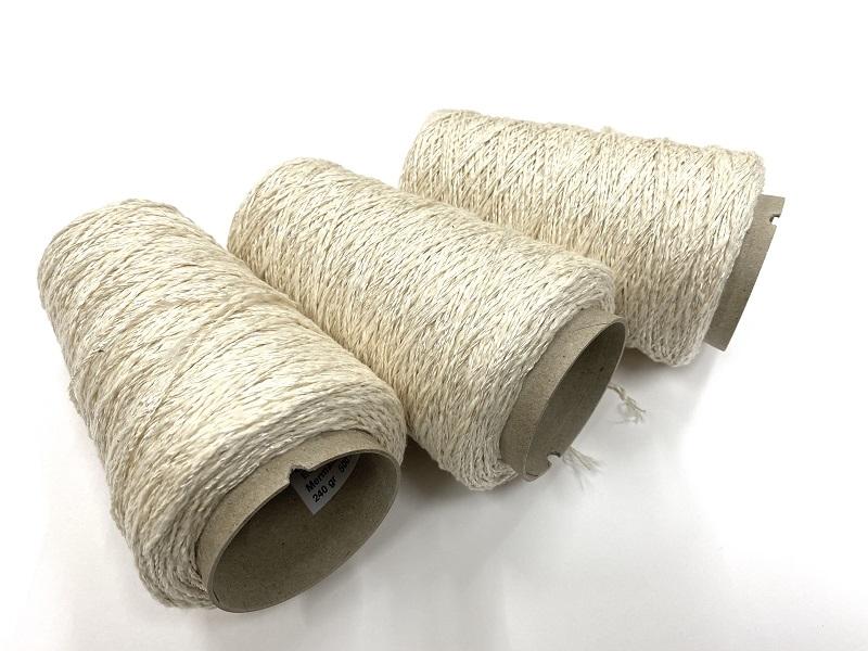 Mermaid fantasy and ECO cotton slub yarn (2ply)
