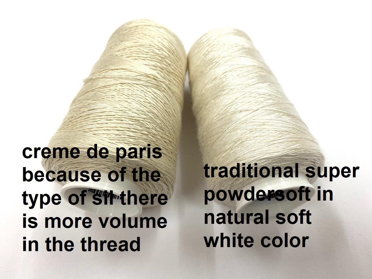 powdersoft silk  special color blanc de paris/creme de paris