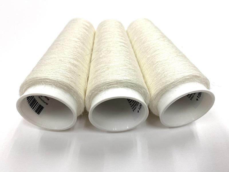 wateroplosbare draad bestaande uit 50% Linnen vezels
